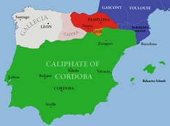 The Caliphate of Cordoba in the early 10th century