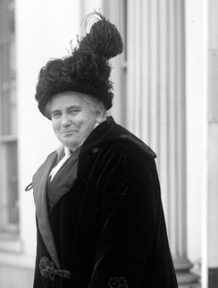 Anna Howard Shaw, 1914