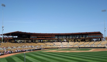View from Right Field, Camelback Ranch, Glendale, Az.