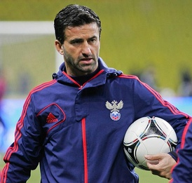 Christian Panucci, the current manager of the Albania national football team.