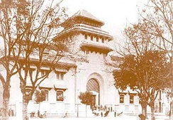 Indochina Medical College in the early 20th century, today the Hanoi Medical University