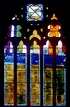 The East window of All Saints Church, Habergham, 1976