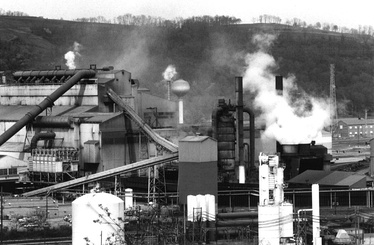 BOP Shop (Basic Oxygen Process) and Ladle Metallurgy Facility of the Edgar Thomson works, as of the mid-1990s