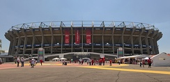 Azteca Stadium is the home of the Mexico national team.