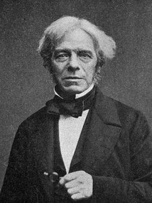 Michael Faraday, ca. 1861, aged about 70.