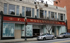Former Woolworth's store, now the International Civil Rights Center and Museum