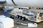 GALEX's Pegasus XL being attached to the Lockheed L-1011 Stargazer