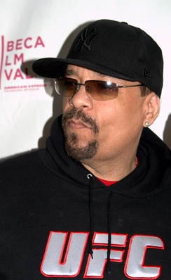 Ice-T at the 2009 Tribeca Film Festival for the premiere of Burning Down the House