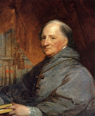 John Carroll, the founder of Georgetown University.
