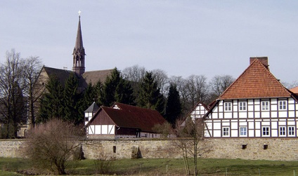 Loccum Abbey continued as a Lutheran monastery since the 16th century A.D.