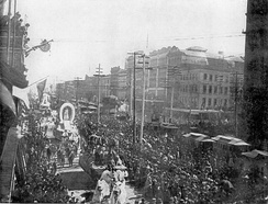 New Orleans Mardi Gras in the early 1890s