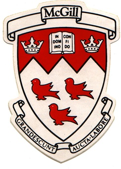 McGill's coat of arms