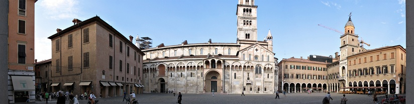 A view of Piazza Grande