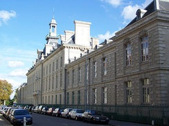 The Lycée Royal in Nantes (now the Lycée Georges-Clemenceau), where Jules Verne studied