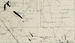 Map of Northern San Joaquin Valley Oil and Gas Fields