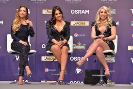 O'G3NE during the Eurovision Song Contest 2017.