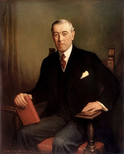 Official presidential portrait of Woodrow Wilson (1913)
