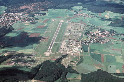 Sembach Kaserne as Sembach Air Base in 1989