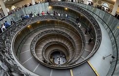 The Vatican Museums are the 3rd most visited art museum in the world.