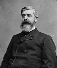 Walter Q. Gresham, Harrison's rival within the Indiana Republican Party