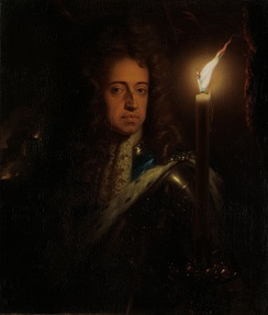 William III painted in the 1690s by Godfried Schalcken