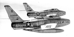 12th Tactical Fighter Wing F-84F Thunderstreaks