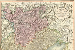 Map of the County of Tyrol (1799)
