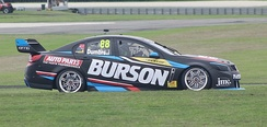 Dumbrell contested the 2017 Dunlop Super2 Series in a Holden VF Commodore for Eggleston Motorsport