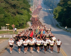 82D Airborne Division 4-mile Run