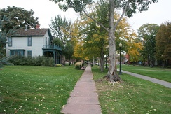 Auraria 9th Street Historic District in Denver County