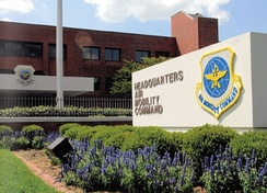 Air Mobility Command Headquarters building, Scott Air Force Base, Illinois