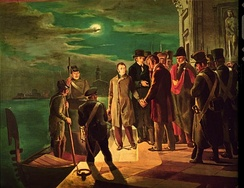 The Arrest of Silvio Pellico and Piero Maroncelli, Saluzzo, civic museum.