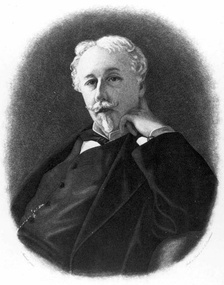 "Arthur de Gobineau, one of the key inventors of the theory of the ""Aryan race"""