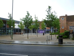 The Wood Street campus of Barnet & Southgate College in Chipping Barnet.