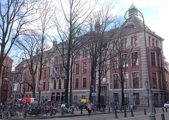 Amsterdam Stock Exchange building at Beursplein 5 (2016).
