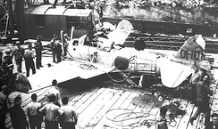Captured Japanese Zero. It was captured intact by U.S. forces in July 1942 on Akutan Island, after the Dutch Harbor Attack and became the first flyable Zero acquired by the United States during the Second World War. It was repaired and made its first test flight in the U.S. on 20 September 1942