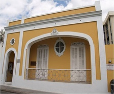 The childhood home in Ponce of Antonio Paoli, one of Puerto Rico's greatest musical performers ever