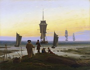 Caspar David Friedrich, The Stages of Life, 1835