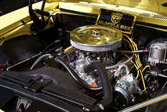 350 cu in (5.7 L) engine installed in a 1968 Camaro SS