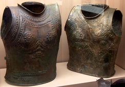 Cuirasses from Marmesse