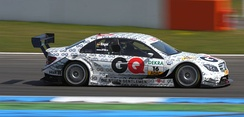 Engel captured in his Mercedes-AMG DTM C-Class