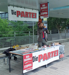 Campaign for the students' union at the University of Bremen in 2016