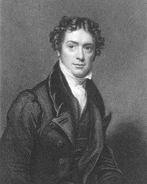 Portrait of Faraday in his late thirties, ca. 1826