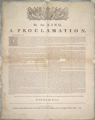 The Royal Proclamation of 1763 is viewed as the first recognition of Aboriginal rights by the Crown.
