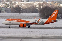 An EasyJet Airbus A320neo