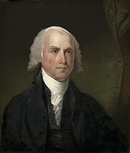 The fourth President of the United States, James Madison, c. 1821, National Gallery of Art