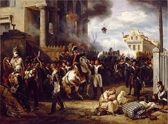 The Battle of Paris, by Horace Vernet