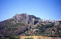 View of Kythira Castle