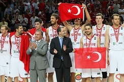 Turkey won the silver medal at the 2010 FIBA World Championship.