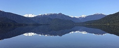 Lake Kaniere is a glacial lake in the West Coast region of New Zealand.
